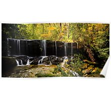 Autumn Fall - Somersby Falls Poster