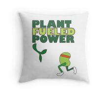 Runner Bean - Plant Fueled Power Throw Pillow