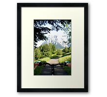 Mountain bike 2 Framed Print