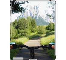 Mountain bike 2 iPad Case/Skin