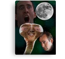 "Nicolas Cage - ""Wolf Shirt"" Canvas Print"