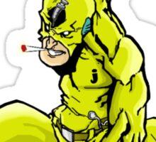 captain junkie Sticker