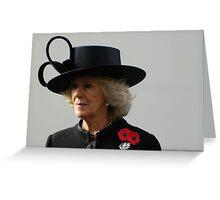 Camilla Greeting Card