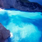 Greece. Ionian Islands. Zakynthos. The shipwreck at St George Bay. by Steve Outram