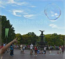 Bethesda Fountain by rentedochan