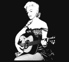 Marilyn Plays Guitar by Graham Lawrence