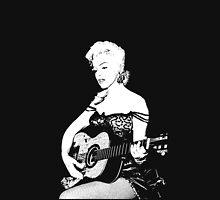Marilyn Plays Guitar Unisex T-Shirt