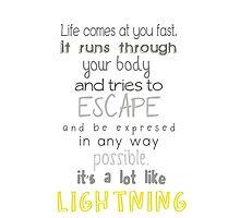 Struck By Lightning by chuckadee