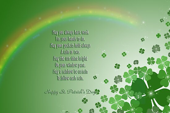 An Irish Blessing by Maria Dryfhout