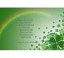 An Irish Blessing Photographic Print