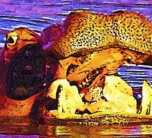 Crazy Hippo by David  MacCallum-Price