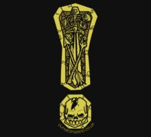 Quest Crest T-shirt (dark) by Steve Dismukes
