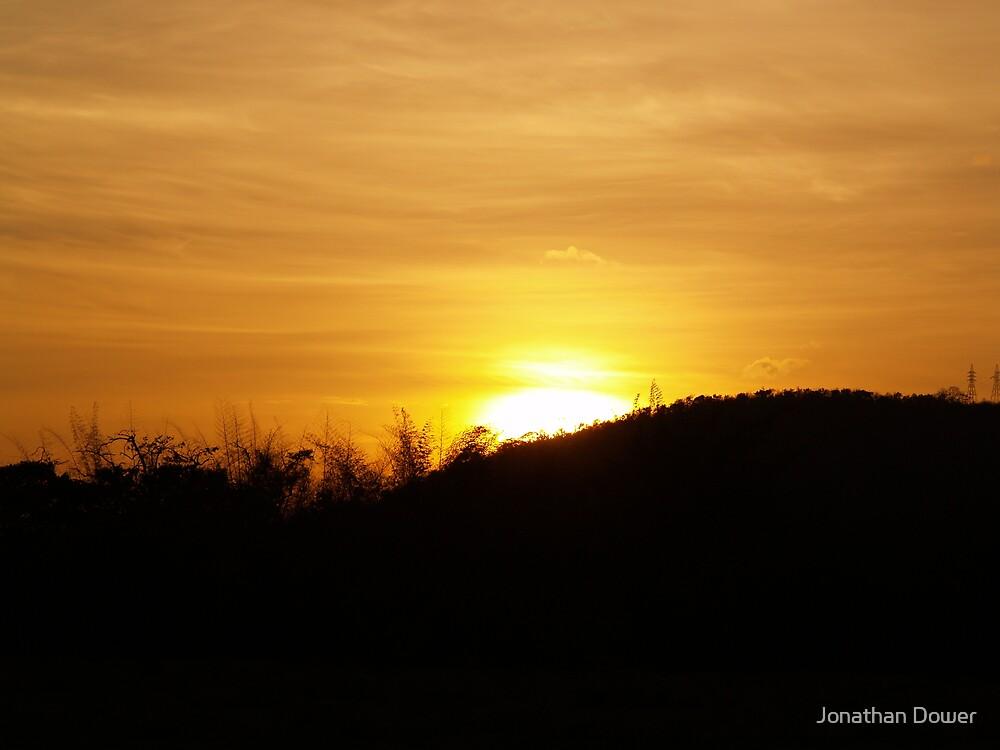 Sunset in Sri Lanka by Jonathan Dower