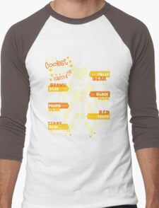 The Coolest Bears on Earth Men's Baseball ¾ T-Shirt