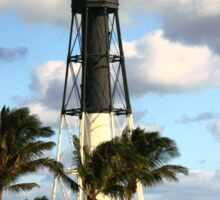 Hillsboro Inlet Lighthouse, Pompano Beach, Florida Sticker