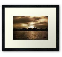 Let Night Fall Framed Print