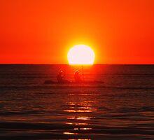 Sunset Venturers by GailDouglas