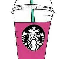 Starbucks Berry Frappucino by yungselfiegod