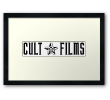 Cult Films 3 Framed Print