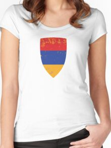 Flag of Armenia Women's Fitted Scoop T-Shirt