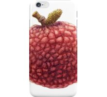 Single Lai Chi Fruit. iPhone Case/Skin