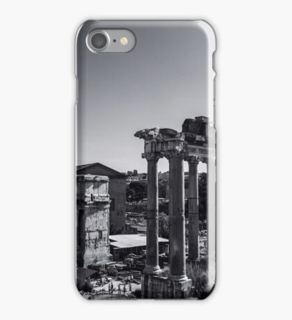 Whispers from the Past - Rome, Italy iPhone Case/Skin