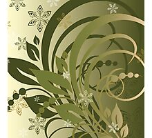 olive branch Photographic Print