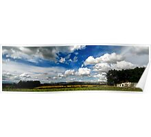 Manawatu Clouds Poster