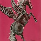 Pegasus by Dawn B Davies-McIninch