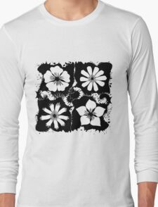 ink flowers Long Sleeve T-Shirt