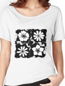 ink flowers Women's Relaxed Fit T-Shirt