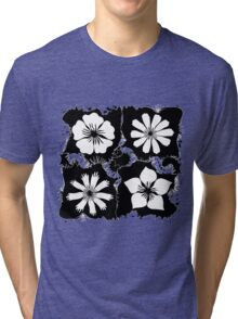 ink flowers Tri-blend T-Shirt