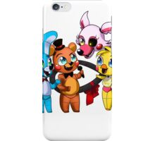 Five nights at freddy's (Chibi) iPhone Case/Skin