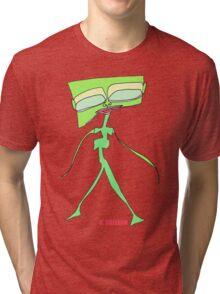 Alien Fashion Model Tri-blend T-Shirt