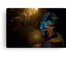 Carnival Dancer in Montevideo, Uruguay Canvas Print