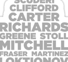 2012 Cup (Light) Sticker