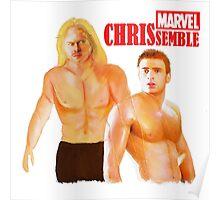 Marvel CHRISsamble  Poster