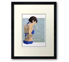In the Beach Framed Print