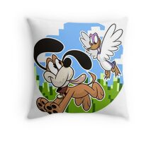Bros Throw Pillow