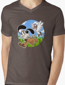 Bros Mens V-Neck T-Shirt