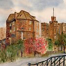 The Black gate Newcastle upon Tyne by GEORGE SANDERSON