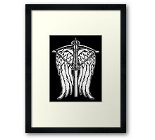 Angel Wings and Crossbow (Clean) Framed Print
