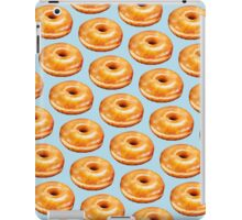 Glazed Donut Pattern iPad Case/Skin