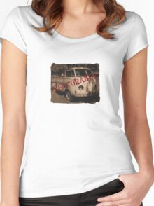 Restorable Women's Fitted Scoop T-Shirt
