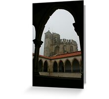 Les Templiers at Tomar Greeting Card