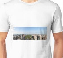 Aerial view of Manhattan, New York City, NY USA  Unisex T-Shirt