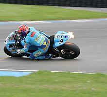 Chris Walker ( stalker)  Rizla Suzuki Superbikes. by Love Through The Lens