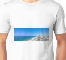 Aerial view of Tel Aviv, Israel Unisex T-Shirt