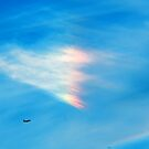 Heart Shaped Rainbow Colored Cloud by Robin Fortin IPA