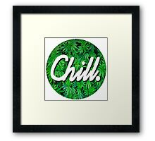 Chill Circle 3 Framed Print
